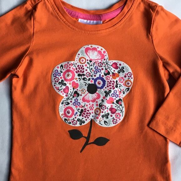 Hanna Andersson Other - Hanna Andersson size 80 12 18 months orange flower